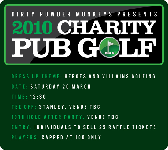 2010 Charity Pub Golf