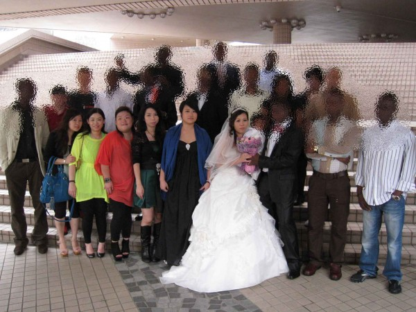 A Hong Kong wedding - for a lucky few there is a happy ending