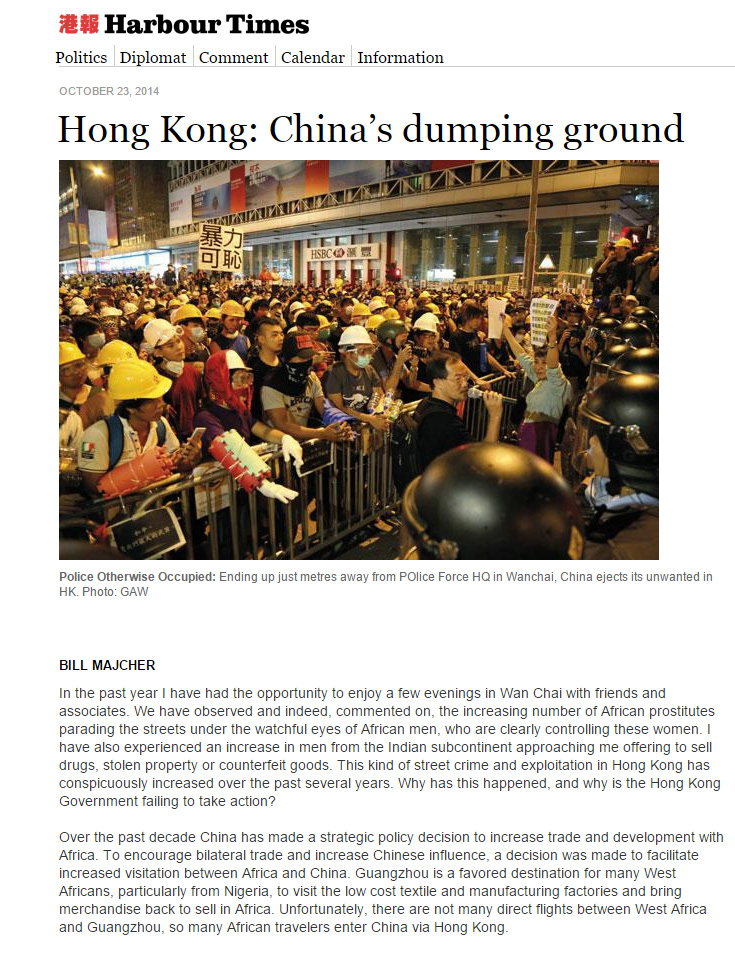 Harbour Times - Hong Kong is China's dumping ground