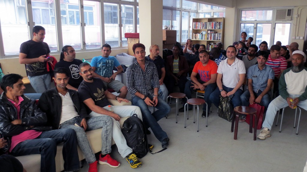 Refugees pledge to tirelessly work together as a community