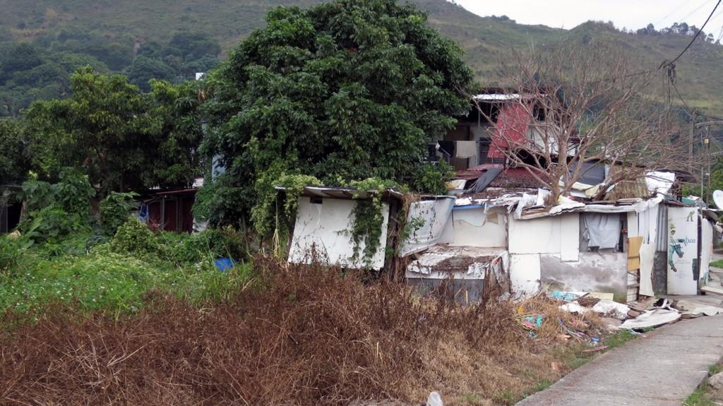 Slum in the Honeymoon House