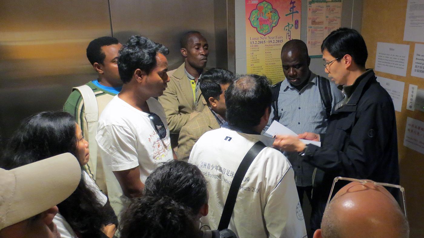 Refugees suffer a contaminated service mindset
