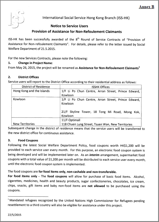 ISS-HK Notice to Service Users (22May2015)