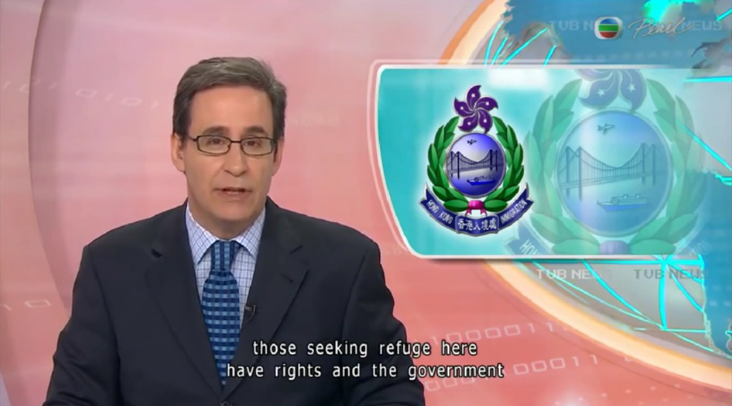TVB - People seeking refuge have rights - 25Aug2015