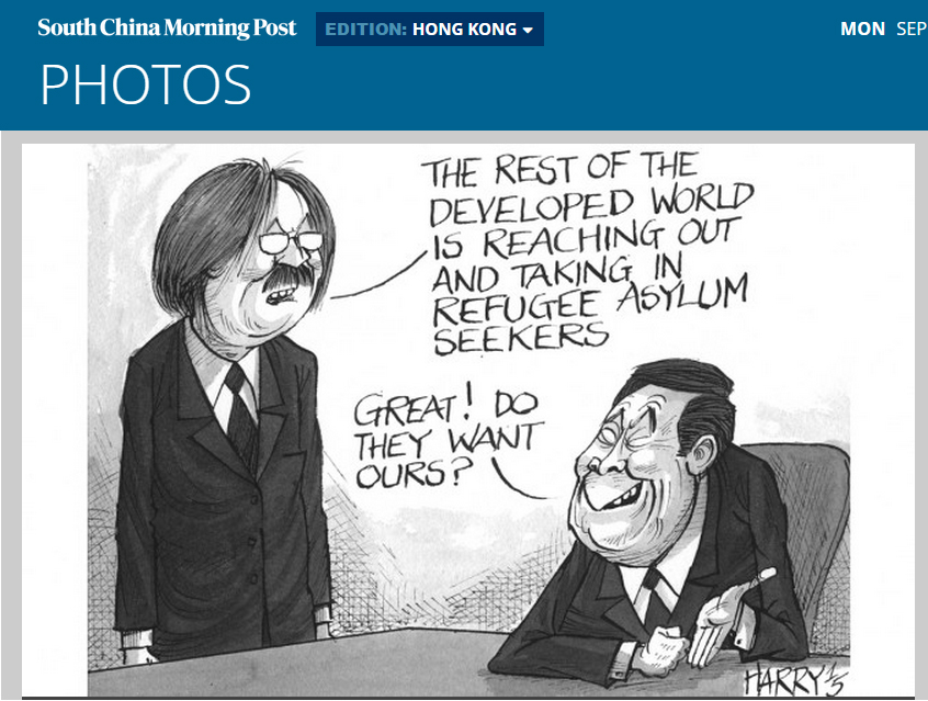 SCMP - Cartoon 11Sep2015