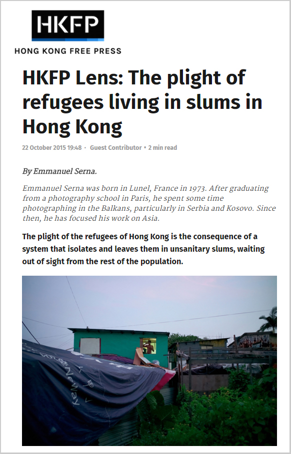 HKFP - The plight of refugees living in slums in Hong Kong