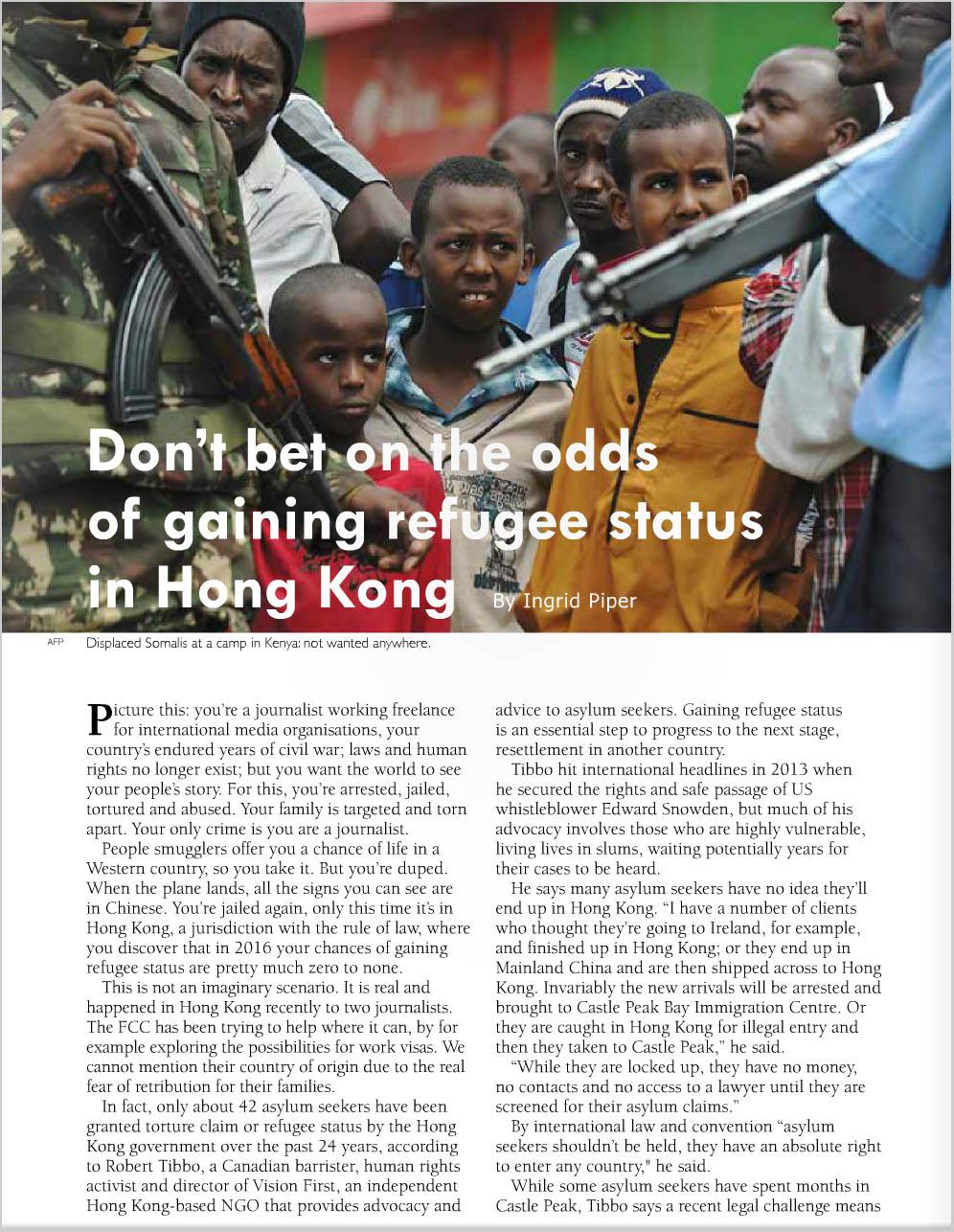 """FCC magazine """"The Correspondent"""" - pp 28-29"""