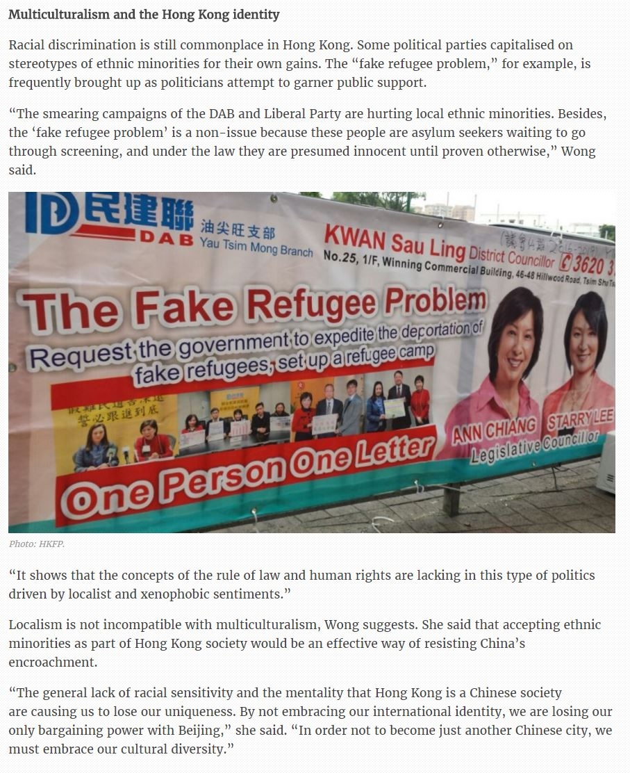 HKFP - Social worker decries fake refugee scare - 3Dec2016