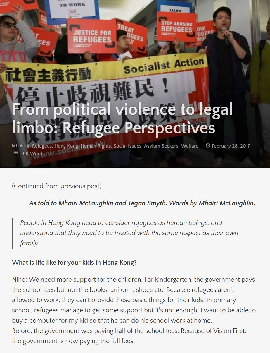 From political violence to legal limbo - 1Mar2017